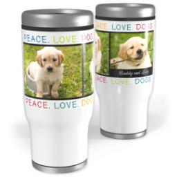 Thumbnail for Stainless Steel Tumbler, 14oz with Family design 1