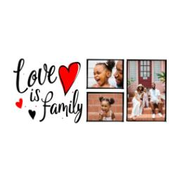 Thumbnail for Stainless Steel Photo Travel Mug, 14oz with Family Hearts design 2