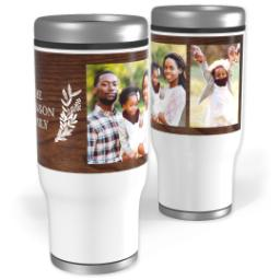 Thumbnail for Stainless Steel Tumbler, 14oz with Family Matters design 1