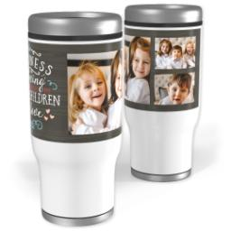 Thumbnail for Stainless Steel Tumbler, 13oz with Family Of Love design 1