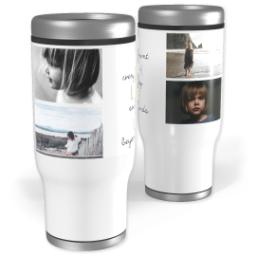 Thumbnail for Stainless Steel Tumbler, 13oz with Keepsakes design 1