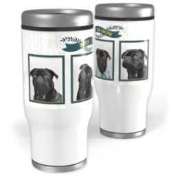 Thumbnail for Stainless Steel Tumbler, 13oz with Kennel Club design 1