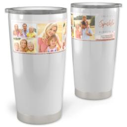 Thumbnail for Vacuum Travel Tumbler, 20oz with Leave A Little Sparkle design 1