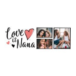 Thumbnail for Stainless Steel Tumbler, 14oz with Love is Nana design 2