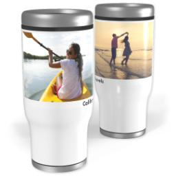 Thumbnail for Stainless Steel Tumbler, 14oz with Minimal Two design 1
