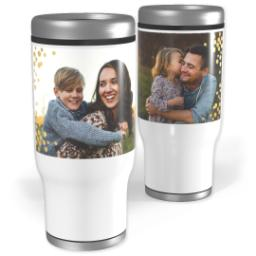 Thumbnail for Stainless Steel Tumbler, 14oz with Modern Splendor design 1