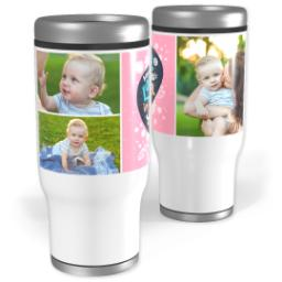 Thumbnail for Stainless Steel Tumbler, 13oz with Mom's Love design 1