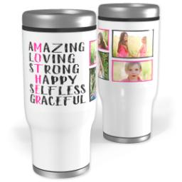 Thumbnail for Stainless Steel Tumbler, 14oz with Mother design 1