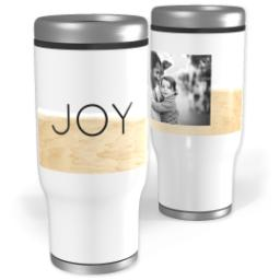 Thumbnail for Stainless Steel Tumbler, 13oz with Pure Joy design 1