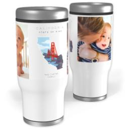 Thumbnail for Stainless Steel Tumbler, 14oz with Scenic View California design 1