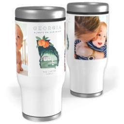 Thumbnail for Stainless Steel Tumbler, 14oz with Scenic View Georgia design 1