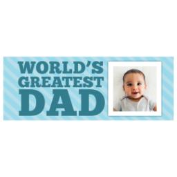Thumbnail for Stainless Steel Tumbler, 14oz with World's Greatest Dad design 2